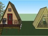 Simple A Frame Home Plans 14 39 X14 39 Tiny A Frame Cabin Plans by Lamar Alexander
