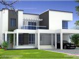 Simple Box House Plans Based Box Type Modern Home Design Kerala Floor Plans