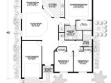 Simple Concrete Block Home Plans Neat and Tidy yet Spacious and Comfortable House Plan