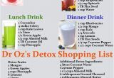 Simple Home Detox Plan Dr Oz 39 S 3 Day Detox Cleanse Drink Recipes Printable