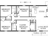 Simple Home Floor Plan Design Simple Small House Floor Plans Simple Small House Floor