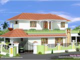 Simple Home Plan Design Simple 4 Bed Room Kerala Style House Kerala Home Design