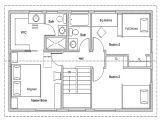 Simple Home Plans Free 2 Bedroom House Simple Plan Simple House Floor Plan