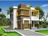 Simple Home Plans Kerala Inspiring Small Double Storied Contemporary House Design