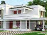 Simple Home Plans Simple but Beautiful Flat Roof House Kerala Home Design