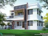 Simple Modern Home Plans Simple Home Plan In Modern Style Kerala Home Design and