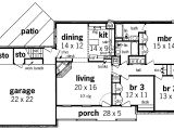 Simple One Story Home Plans Simple One Story House Plans Floor Plan Enlarge House