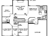 Single Family Home Plans Floorplan