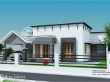 Single Floor Home Design Plans 1300 Sq Ft Single Floor Contemporary Home Design