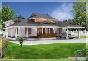 Single Floor Home Plans 2 Bedroom Single Storied House Kerala Home