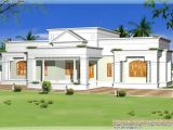 Single Home Plans Single Storey Kerala House Model with Kerala House Plans
