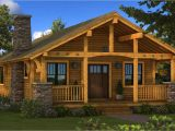 Single Home Plans Single Story Log Cabin House Plans