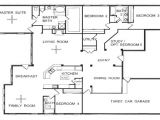 Single Level Home Floor Plans One Story Floor Plans One Story Open Floor House Plans