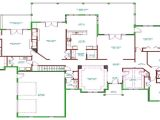 Single Level Home Floor Plans Raised Ranch House Split Ranch House Floor Plans Single
