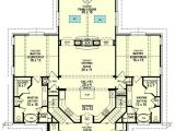 Single Level House Plans with Two Master Suites Dual Master Suites 58566sv 1st Floor Master Suite Cad