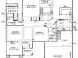 Single Level House Plans with Two Master Suites House Building Plans with Two Master Bedrooms Large