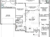 Single Level House Plans with Two Master Suites House Plans with 2 Master Bedrooms Smalltowndjs Com