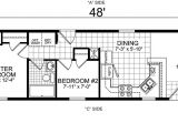 Single Mobile Home Floor Plans Single Wide Mobile Home Floor Plans Bookks Pinterest
