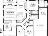 Single Storey Home Floor Plans Single Story House Floor Plans Plan W69022am northwest