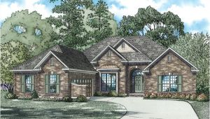 Single Story Brick House Plans Palladio Single Story Home Plan 055d 0171 House Plans