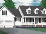 Single Story Cape Cod House Plans House Plan 2990 A the Arlington A Classical One Story