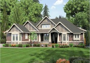 Single Story Craftsman Home Plans 26 Unique House Plans Craftsman Single Story House Plans