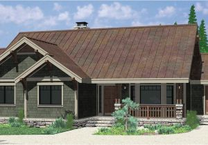 Single Story Craftsman Home Plans Ranch House Plans American House Design Ranch Style Home