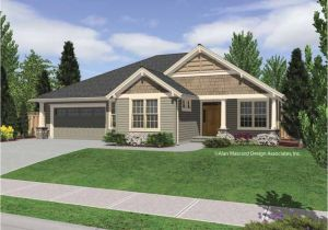 Single Story Craftsman Home Plans Rustic Single Story Homes Single Story Craftsman Home