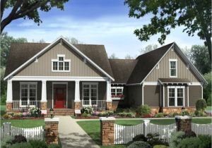 Single Story Craftsman Home Plans Single Story Craftsman House Plans Craftsman House Plan