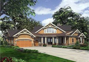 Single Story Craftsman Home Plans Single Story Craftsman House Plans Dramatic Craftsman
