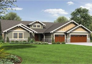Single Story Craftsman Home Plans Single Story Craftsman Style House Plans Craftsman Single