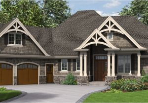 Single Story Craftsman Home Plans the Ripley Single Story Craftsman House Plan with tons Of