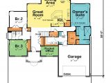 Single Story Home Floor Plans Borderline Genius One Story Home Plans Abpho