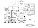 Single Story Home Plans Open Floor Plans for Single Story French Country Homes