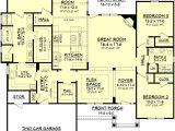 Single Story Home Plans with Bonus Room One Story House Plans Bonus Room Cottage House Plans