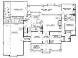 Single Story Home Plans with Bonus Room One Story House Plans with Bonus Room Above Garage