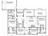 Single Story House Plans with 2 Master Suites Home Plans Dual Master Suites