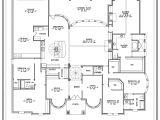 Single Story House Plans with 3 Car Garage House Plans 1 Story Smalltowndjs Com