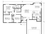 Single Story House Plans with 3 Car Garage Single Story Open Floor Plans Single Story Plan 3