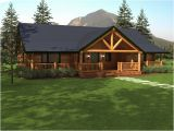 Single Story Log Home Plans Sequoia Log Home Floor Plan Duncanwoods Log Timber Homes