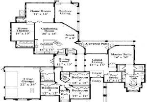 Single Story Luxury Home Plans One Story Luxury Floor Plans Luxury Hardwood Flooring One