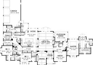Single Story Luxury Home Plans Satisfying Single Story 6942am 1st Floor Master Suite