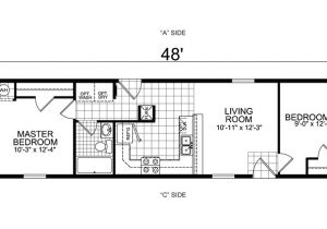 Single Wide Mobile Home Floor Plans 1 Bedroom 3 Bedroom Single Wide Mobile Home Floor Plans Beautiful