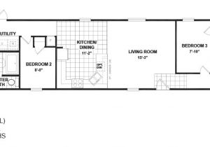Single Wide Mobile Home Floor Plans 1 Bedroom Bedroom Single Wide Mobile Home Floor Plans Bestofhouse