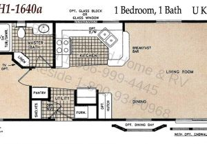 Single Wide Mobile Home Floor Plans 1 Bedroom Manufactured Homes Chariot Eagle West Ch1 1640a Blue