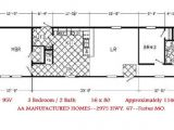 Single Wide Mobile Home Floor Plans 1 Bedroom Single Wide Trailer Home Floor Plans Modern Modular Home