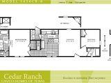Single Wide Mobile Home Floor Plans 2 Bedroom Cavco Homes Floor Plan 1656cr A 2 Bedroom 1 Bath Single