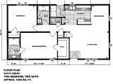 Single Wide Mobile Home Floor Plans 2 Bedroom Double Wide Mobile Home Floor Plans Double Wide Mobile