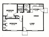 Sketch Plan for 2 Bedroom House Sketch Plan for 2 Bedroom House Luxury Eplans Ranch House