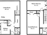Sketch Plan for 2 Bedroom House Two Bedroom Sketch